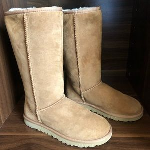 Tall Ugg Boots! Size 6. Worn once.